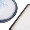 Набор фильтров мотора HEPA + микро (контейнера) для пылесоса Rowenta / Tefal  ZR005901 1