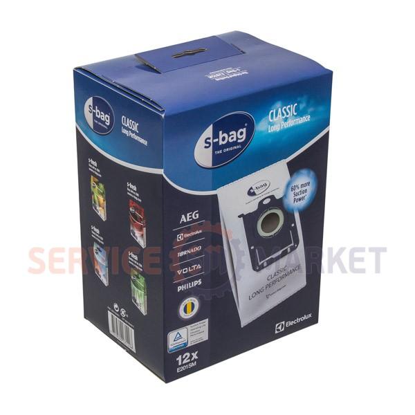 Набор мешков (12шт) E201SM S-BAG Classic Long Performance для пылесоса Electrolux 9001684811